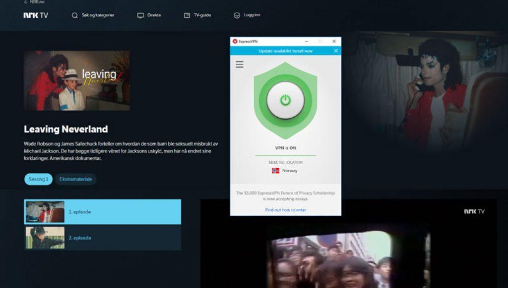 Hvordan se på NRK i utlandet