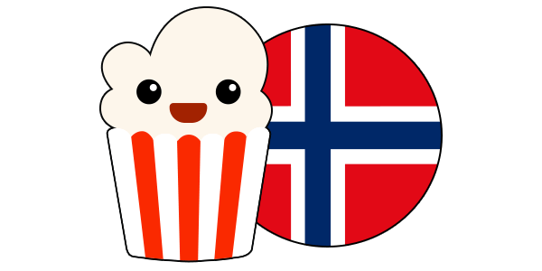 Beste VPN-en for Popcorn Time i Norge