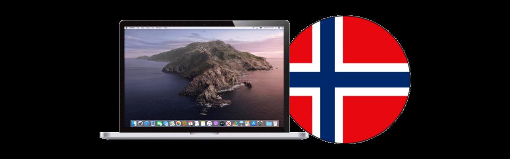 Beste VPN Mac Norge