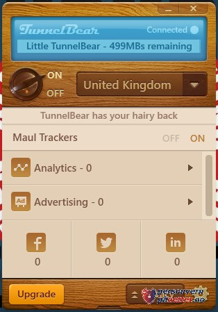 Maul Tracker TunnelBear