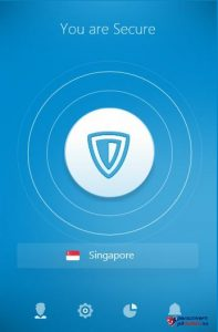 Tilkoblet server VPN ZenMate