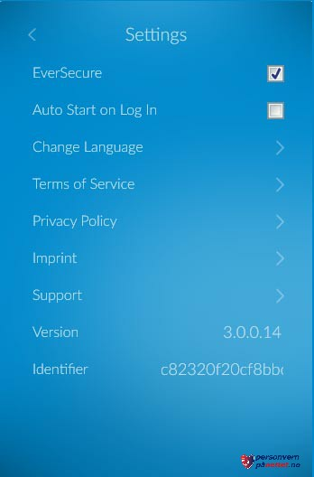 VPN-innstillinger for ZenMate