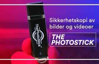 Ta sikkerhetskopi av bilder og videoer med ThePhotoStick for PC
