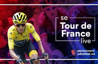 Hvordan se Tour de France 2020 gratis på nett