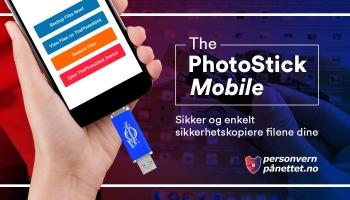 ThePhotoStick Mobile Anmeldelse: Enkelt kan Backe Opp Dine Data