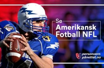 Hvordan Se Amerikansk Fotball NFL 2021
